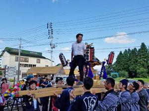 2017年千手神社秋祭り