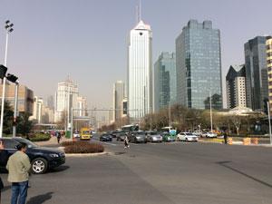 中国工場視察