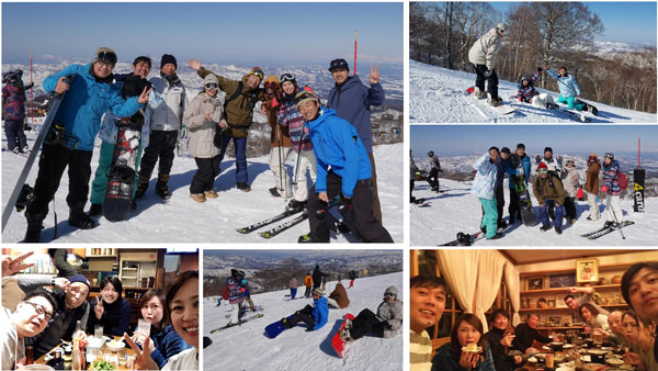 野沢温泉スキー旅行